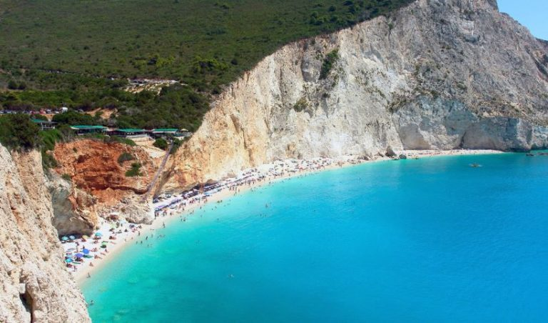porto-katsiki-beach-of-lefkada-in-ionio-during-summer